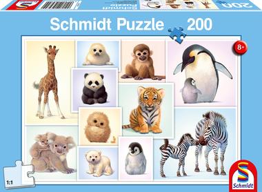 Kleine dieren in de wildernis - Puzzel (200)