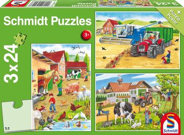 Op de boerderij - Puzzel (3x24)