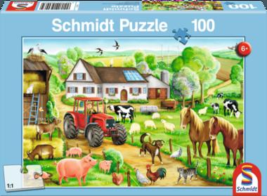 De vrolijke boerderij - Puzzel (100)