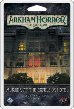 Arkham Horror: The Card Game – Murder at the Excelsior Hotel