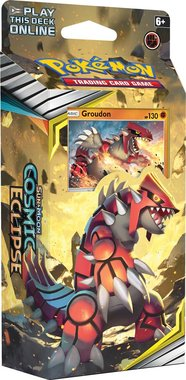 Pokémon: Cosmic Eclipse - Theme Deck (Starter Groudon)