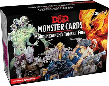 Dungeons & Dragons: Monster Cards - Mordenkainen's Tome of Foes