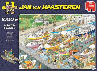 De Sluizen - Jan van Haasteren Puzzel (1000)