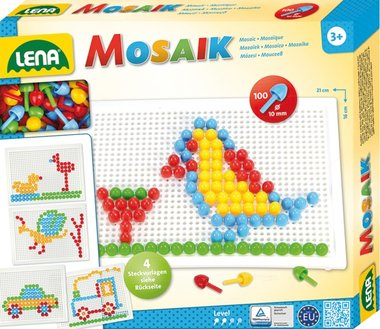 Mozaïek Set 100 stuks - 10mm