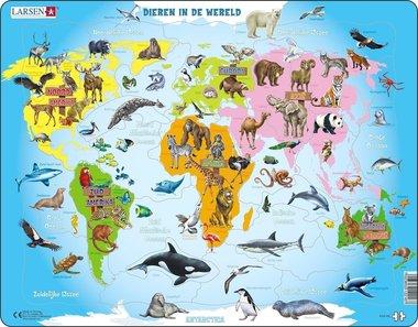 Puzzel LARSEN: Dieren in de Wereld (28)