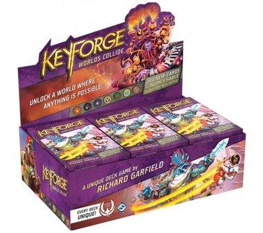 KeyForge: Worlds Collide (Boosterbox = 12 decks)