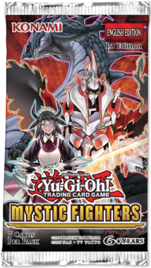 Yu-Gi-Oh! Mystic Fighters (Booster)