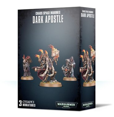 Warhammer 40,000 - Chaos Space Marines Dark Apostle