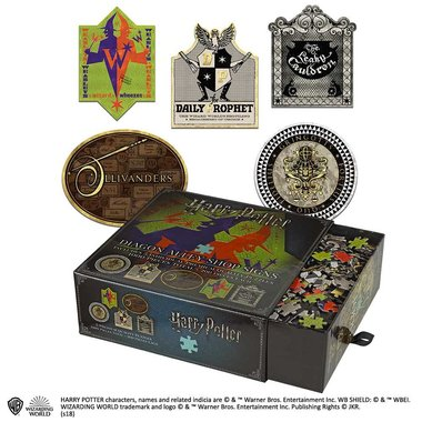 Harry Potter: Diagon Alley Shop Signs - Premium Quality Puzzles (1000)