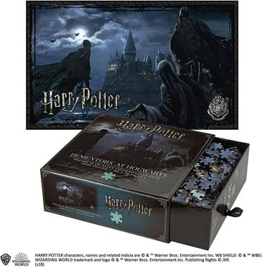 Harry Potter: Dementors at Hogwarts - Premium Quality Oversized Puzzle (1000)