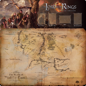 The Lord of the Rings: The Card Game - Fellowship 1-4 Player Gamemat