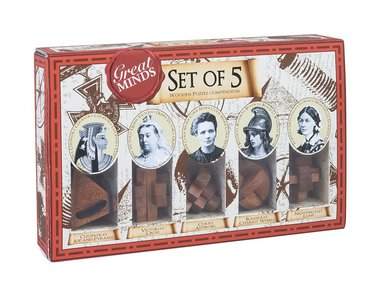 Great Minds: Women's Set of 5