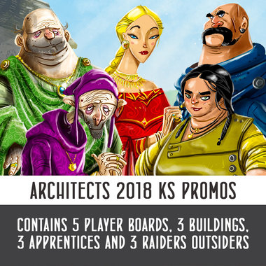 Promo Set: Architects of the West Kingdom/Raiders of the North Sea