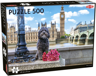 Dog in London - Puzzel (500)