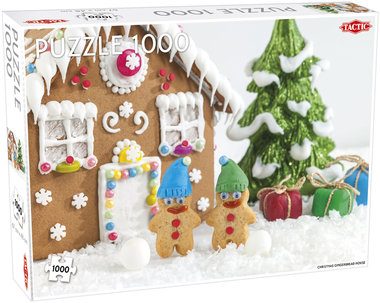 Christmas Gingerbread House - Puzzel (1000)