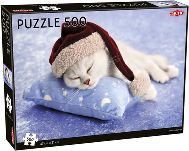 Christmas Kitten - Puzzel (500)