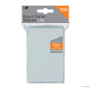 Ultra Pro Lite Board Game Sleeves: Special Sized (65x100mm) - 100 stuks