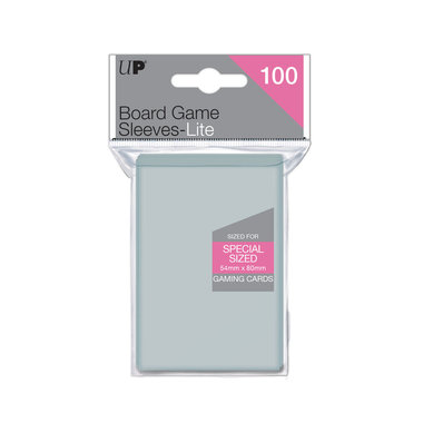 Ultra Pro Lite Board Game Sleeves: Special Sized (54x80mm) - 100 stuks