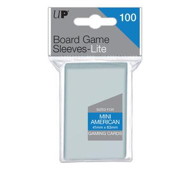 Ultra Pro Lite Board Game Sleeves: Mini American (41x63mm) - 100 stuks