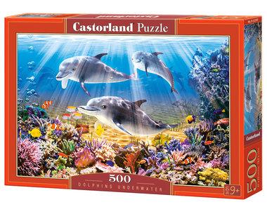 Dolphins Underwater - Puzzel (500)