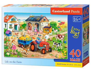 Life on the Farm - Puzzel (40MAXI)
