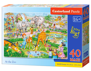 At the Zoo - Puzzel (40MAXI)