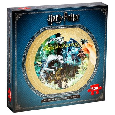 Harry Potter: Magical Creatures - Puzzel (500)