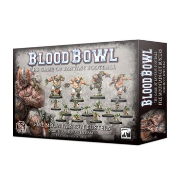 Blood Bowl: Fire Mountain Gut Busters (Ogre Blood Bowl Team)