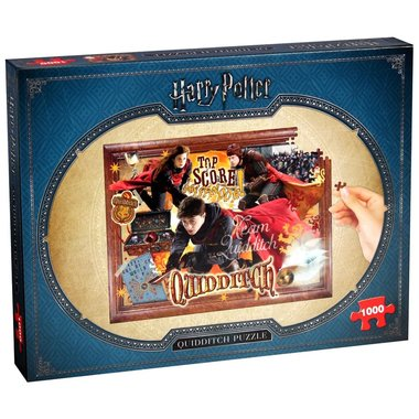 Harry Potter: Quidditch - Puzzel (1000)