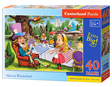 Alice in Wonderland - Puzzel (40MAXI)