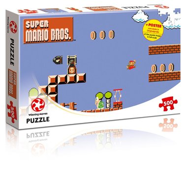 Super Mario Bros: High Jumper - Puzzel (500)