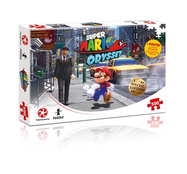 Super Mario Odyssey: New Donk City - Puzzel (500)