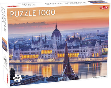 Budapest Castle Hill - Puzzel (1000)