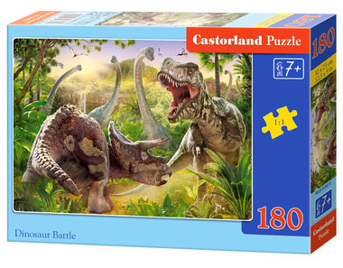 Dinosaur Battle - Puzzel (180)