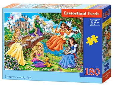 Princesses in Garden - Puzzel (180)