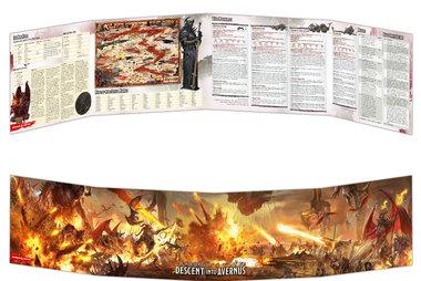 Dungeons & Dragons: Baldur's Gate - Descent Into Avernus (Dungeon Master's Screen)