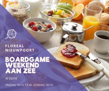 Boardgameweekend aan Zee: Ontbijt Volwassene (2020)