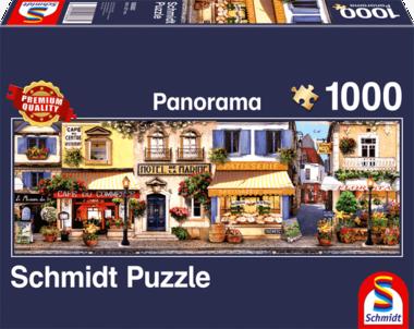 Wandeling door Parijs - Panorama Puzzel (1000)