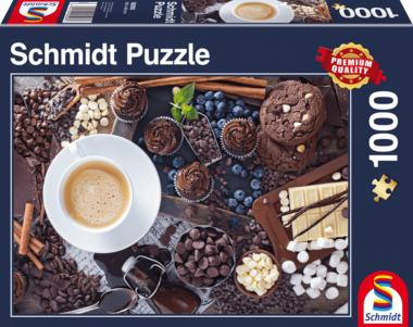 Zoete pauze - Puzzel (1000)