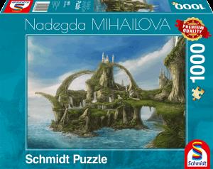 Eiland van de watervallen (Nadegda Mihailova) - Puzzel (1000)