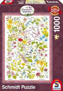 Wilde bloemen - Puzzel (1000)