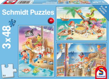 Piratenbende - Puzzel (3x48)