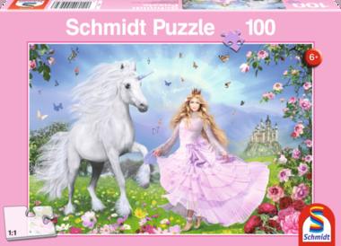 Prinses van de Eenhoorns - Puzzel (100)