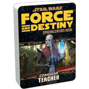 Star Wars: Force and Destiny - Teacher (Specialization Deck)