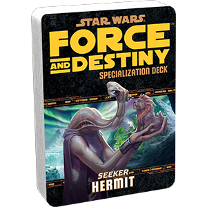 Star Wars: Force and Destiny - Hermit (Specialization Deck)