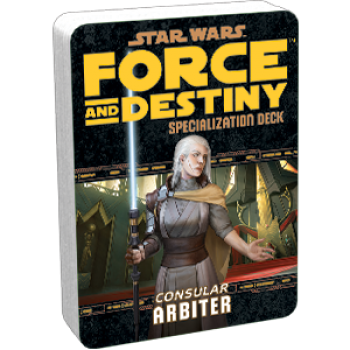 Star Wars: Force and Destiny - Arbiter (Specialization Deck)
