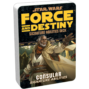 Star Wars: Force and Destiny - Consular (Signature Abilities)