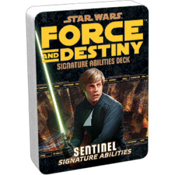 Star Wars: Force and Destiny - Sentinel (Signature Abilities)