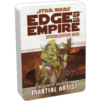 Star Wars: Edge of the Empire - Martial Artist (Specialization Deck)