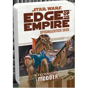 Star Wars: Edge of the Empire - Modder (Specialization Deck)